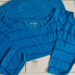 Old Navy Sheer Casual Blouse